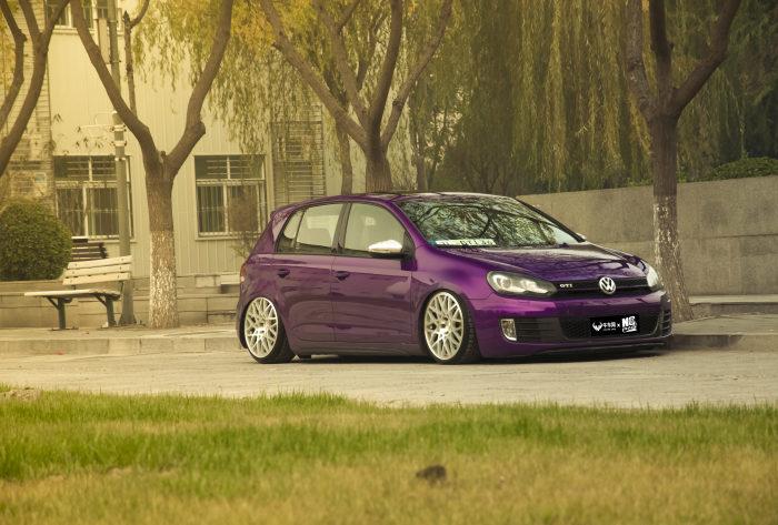 内敛变身诱惑 紫色GTI 改装案例