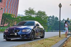 倩影幽�m BMW E92�p改案例