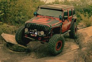 天生越野狂 Jeep牧马人攀岩版改装案例