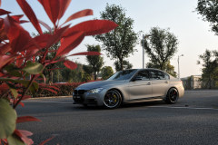 金属战斗灰  BMW新328改装案例