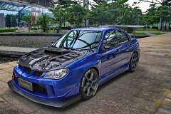 极致蓝豹Impreza WRX STi轮上330匹