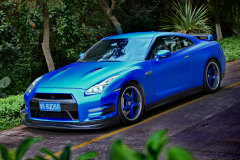蓝色妖姬 日产GT-R(R35)点到即止