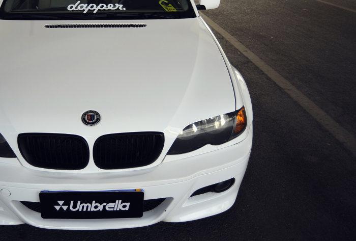 怀揣老车情怀的少年 BMW E46重现