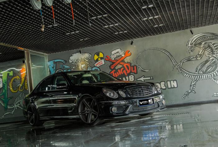 AMG的稳重大叔 奔驰E63改装案例