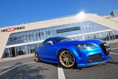 藍色旋風 啞光奧迪TT改裝案例