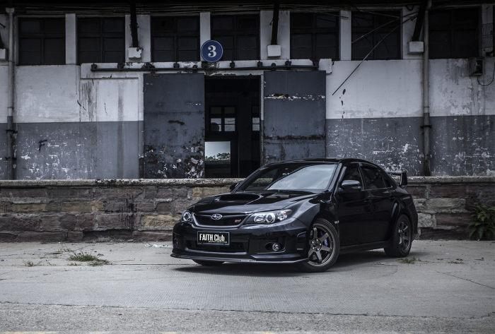黑色幽灵 成都制造Subaru lmpreza STI