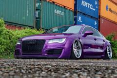 无可替代  骚紫的宽体奥迪A7独霸全国