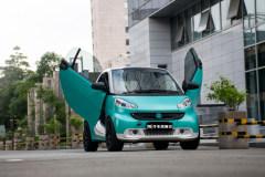 会飞的玩具车 Smart剪刀门改装案例