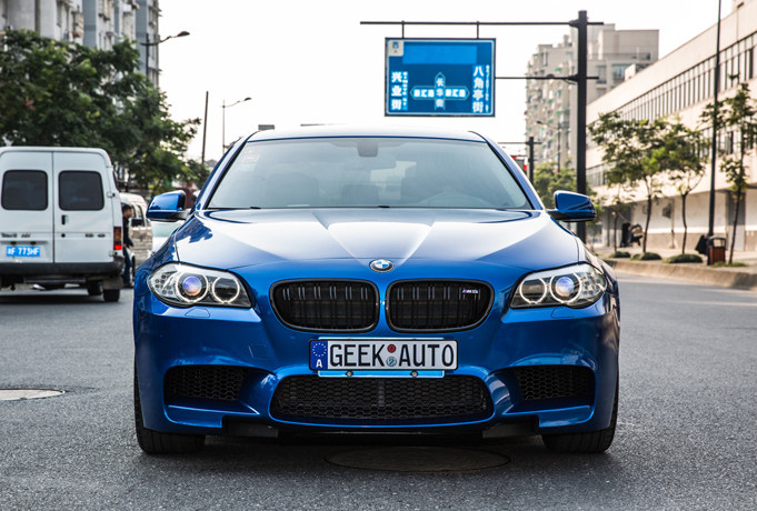 5系M版改 让车主更爱上自己的爱车