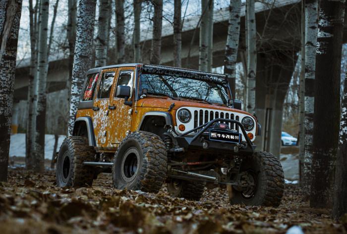狂野铁锈范儿 Jeep牧马人改装