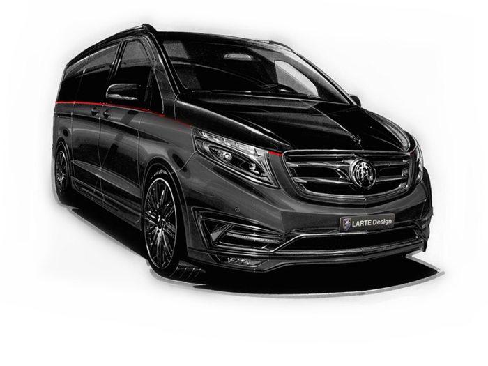 别买飞机了M.Benz V-Class Black Crystal已发布