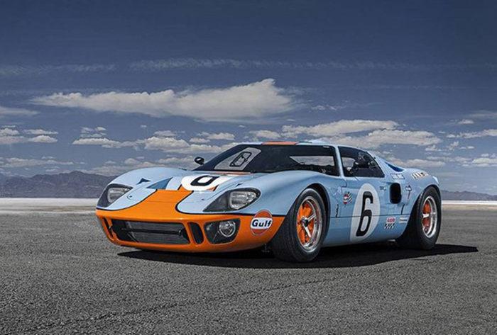 经典美国派 Gulf涂装原版福特GT40