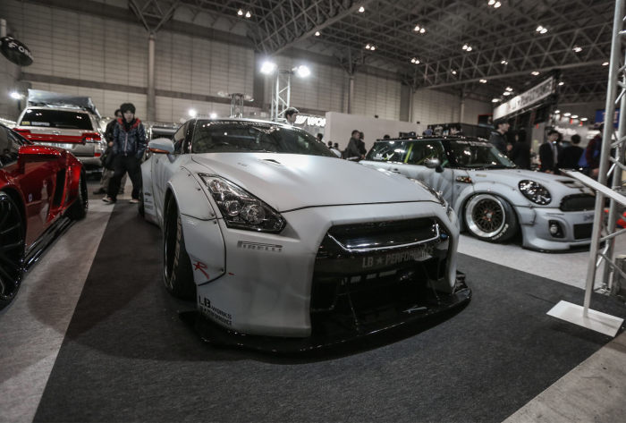 日式寬體真王道 GT-R&Mini Cooper