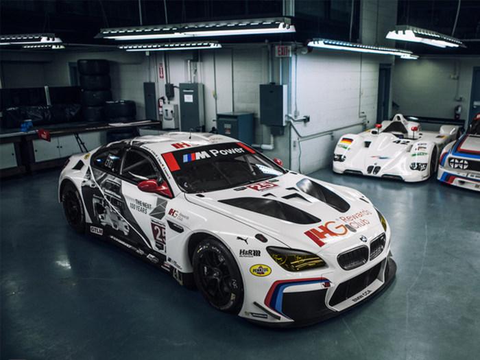 宝马百年诞辰  BMW M6 GTLM 赛车纪念彩绘