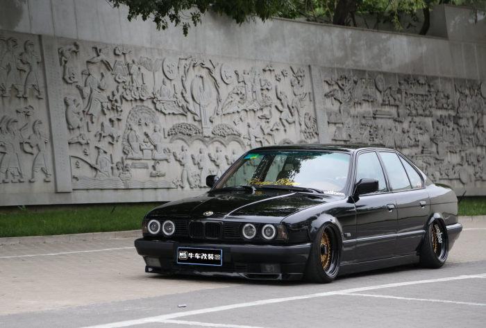 老马回春低姿态 BMW E34 5系