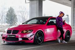 �汗魈鹦� Sissy�c她的BMW M3(E92)