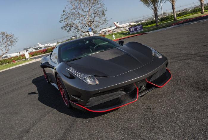扩张凶猛外表 法拉利458改装Misha Designs套件