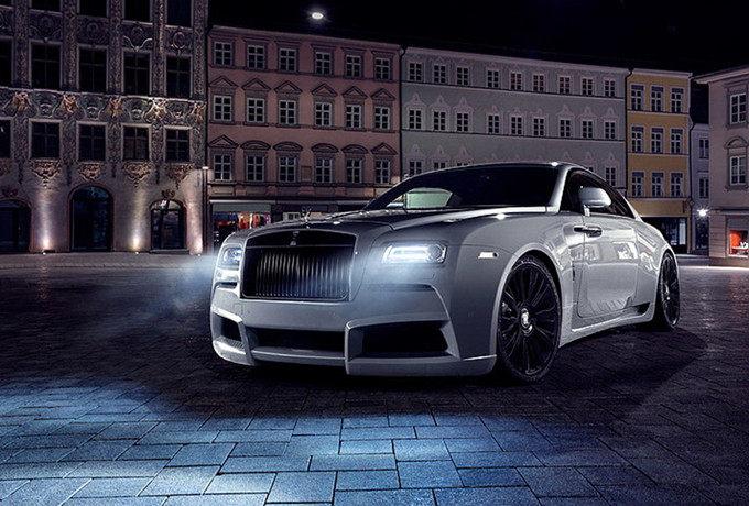Spofec操刀宽体之作 限量8辆Rolls Royce Wraith Overdose