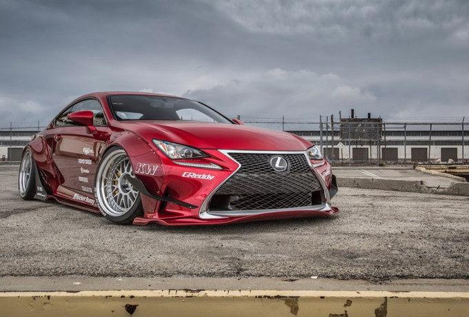意淫之物 趴出高潮之Rocket Bunny Lexus RC