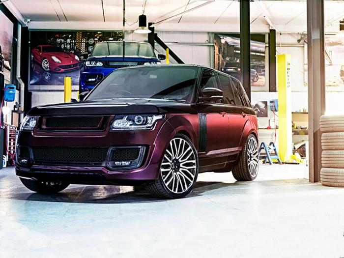 灵感特供系列之Range Rover RS Pace Car
