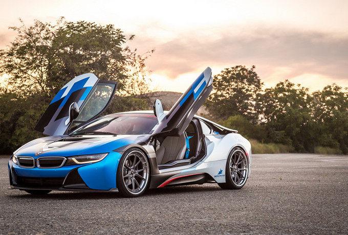 未来更多可能性 BMW i8 VR-E AERO碳纤作品