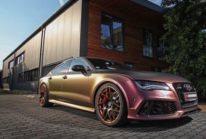 溜背變色龍Audi RS7 Sportback直逼R8 V10 Plus