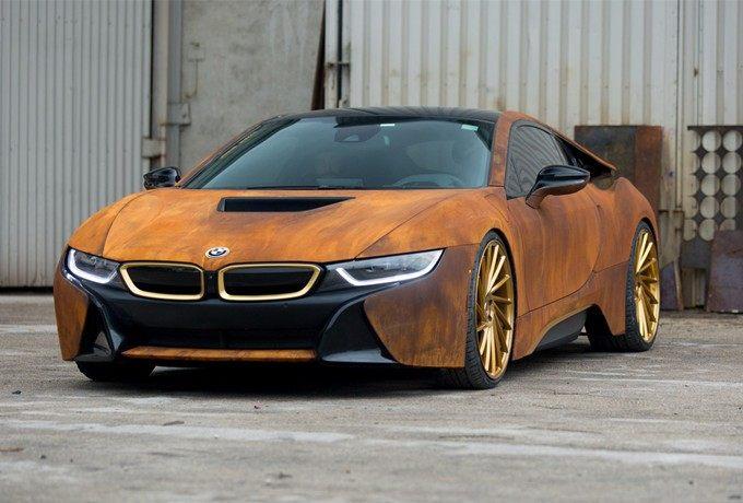 铁锈的味道 改装生锈车身涂装的宝马i8
