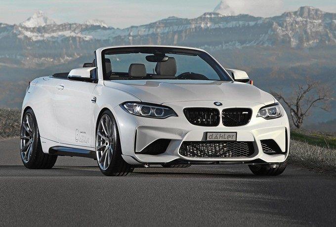 代号F23非F87,Dähler打造BMW M2 Convertible