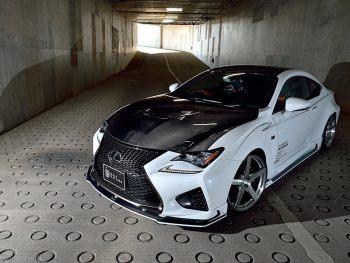 释放自吸V8之炎!Rowen For Lexus RC F作品