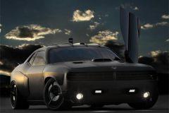 汽车中的战斗机 美空军道奇Challenger