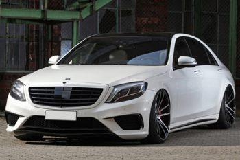 改装 Mercedes-AMG S 63 ,老板车也可以帅到不要不要!