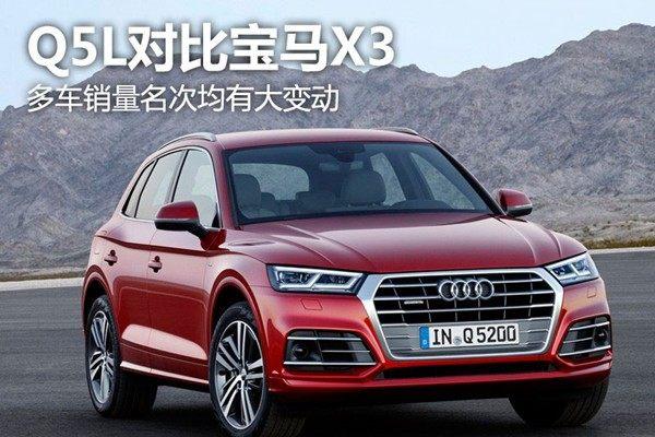 北京车展:无怼不欢 奥迪Q5L与全新宝马X3谁才是赢家?