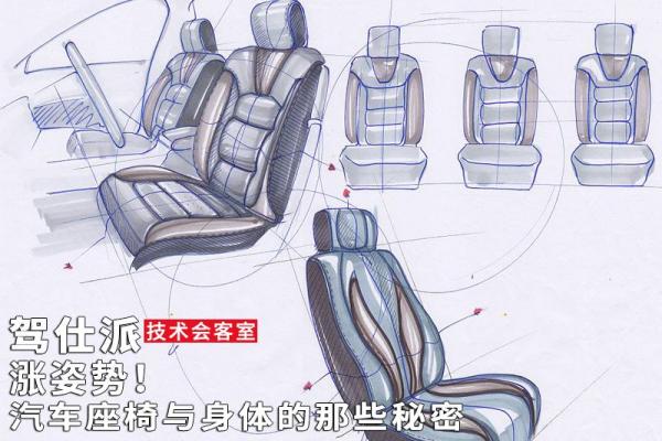 涨姿势!汽车座椅与身体的那些秘密|技术会客室