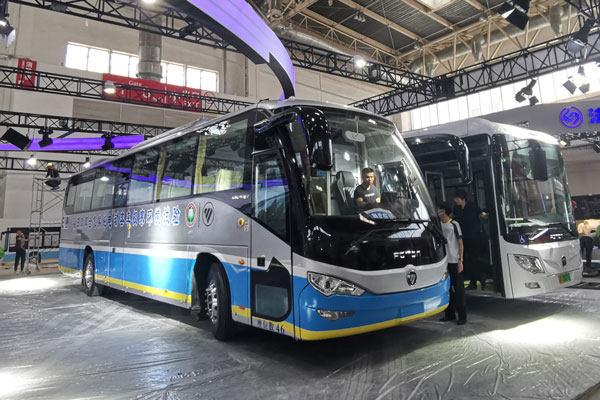 2019北京道路运输展 福田欧辉纯电动/燃料电池客车亮相