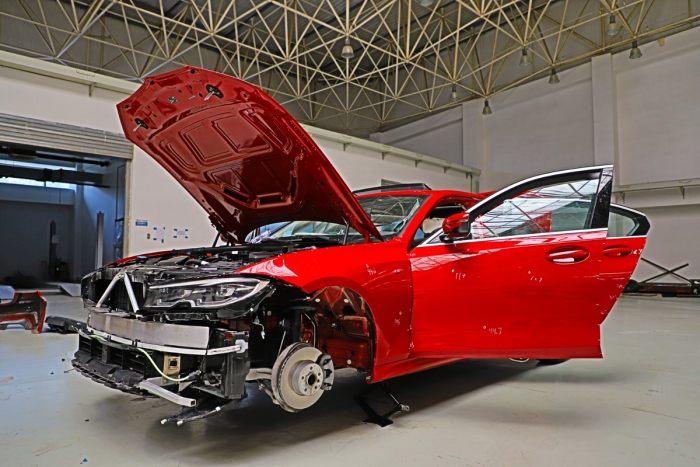 宝马新3系拆解外传 豪华车拿什么限制汽车维修后市场