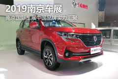 2019南京国际车展自主品牌新车汇聚