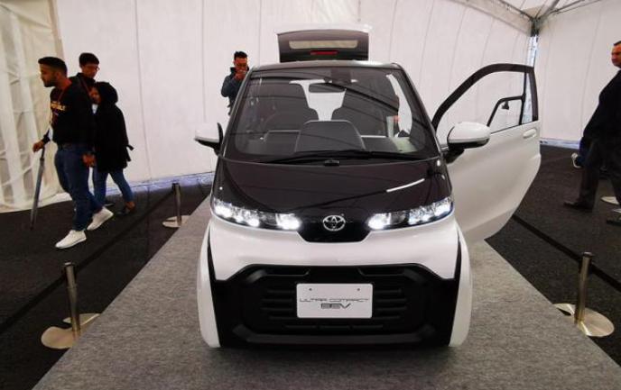 解读丰田微型电动车Ultra
