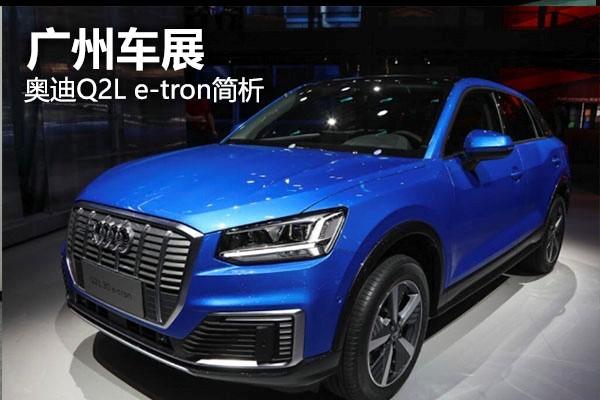 奥迪首款纯电动SUV Q2L e-tron简析