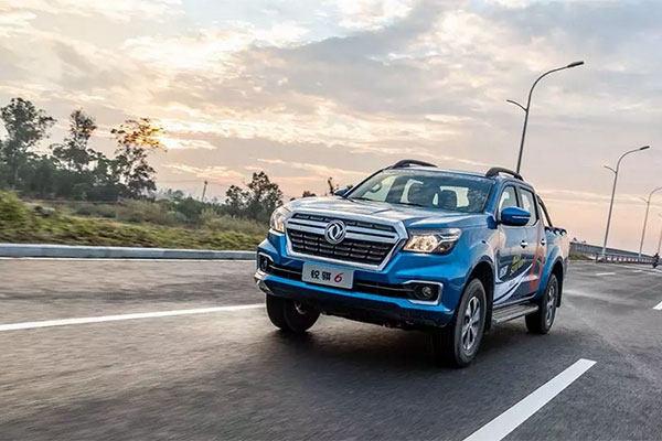 郑州日产2.3T柴油锐骐6发布 预售价10.68万起