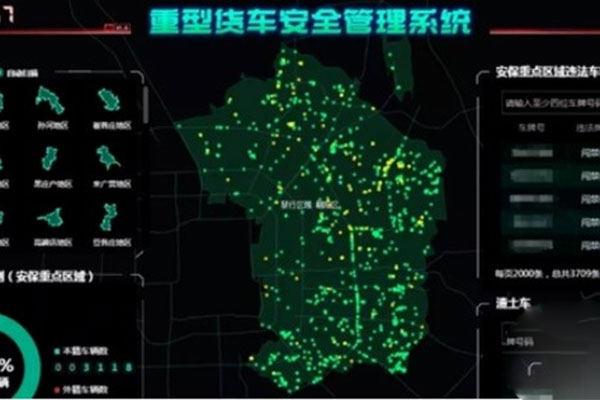 北京朝阳区重型货车安全管理系统上线 加强市场管理
