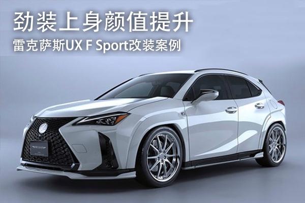 劲装上身颜值提升 雷克萨斯UX F Sport改装案例