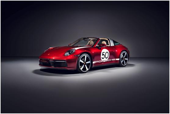 是传承也是致敬,保时捷911 Targa 4S Heritage Design特别版发售