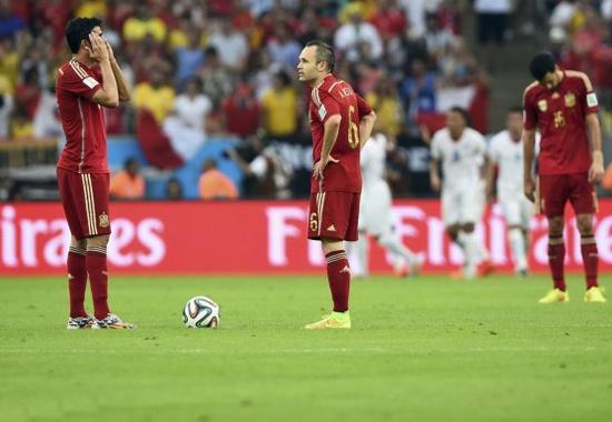 西班牙输球