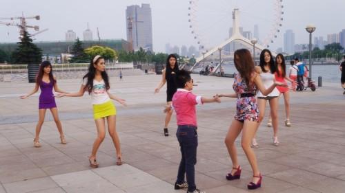 记录广场舞