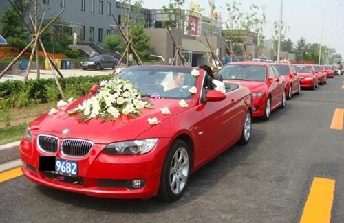 婚车编队行驶