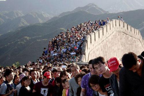 拥挤的人群