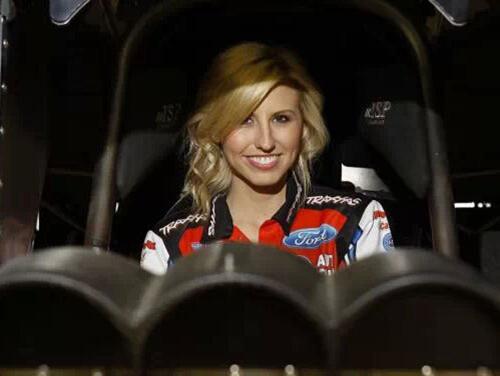 美女赛车手