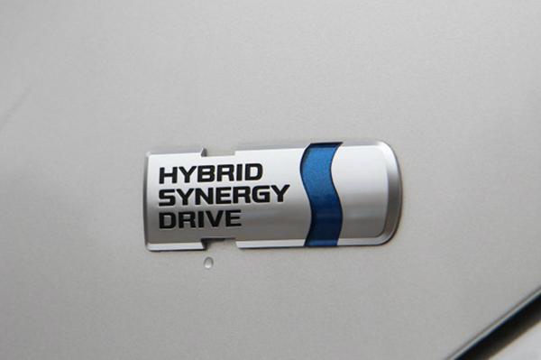 丰田混合动力系统标识