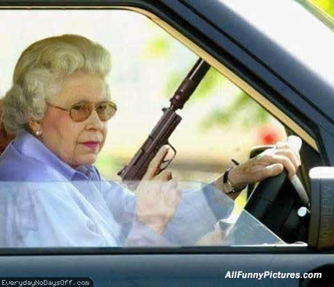 凶悍女司机