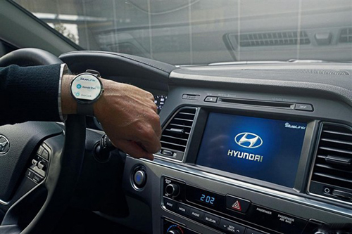 手表控制汽车